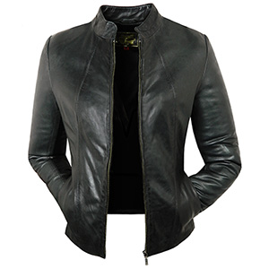 Caroline Black Womens Jacket