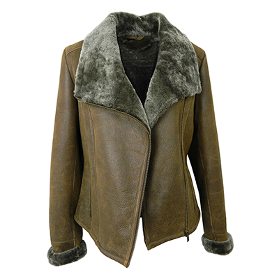 Cassie Sheepskin Jacket