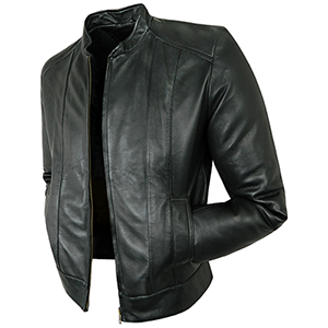 Cooper Black Leather Jacket