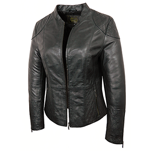 Fiona Ladies Leather Jacket