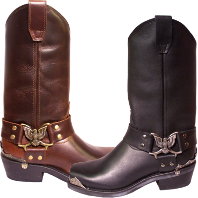 Grinder Eagle Hi Leather Boots