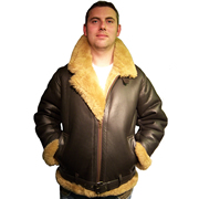 Irwin Style Sheepskin Flying Jacket