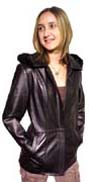 Zoe- Ladies Hooded Coat