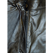 Leather Jeans Fly Zip Replacement