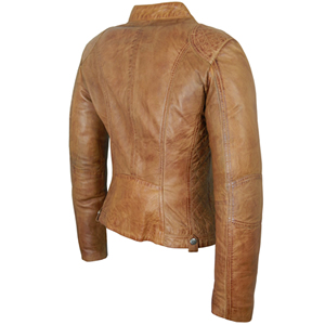 Tan Rear View Jacket