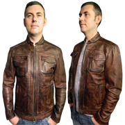 Peter Men's Leather Jacket