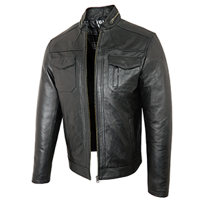 Peter Black Leather Jacket