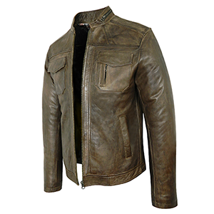 Peter Brown Leather Jacket