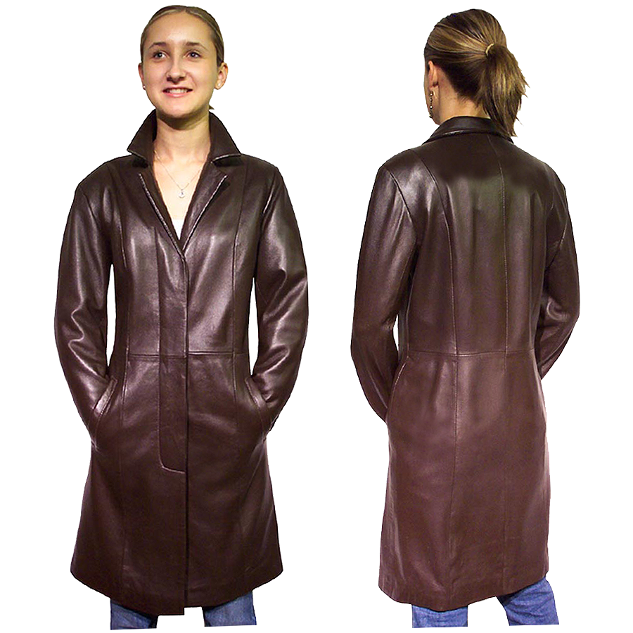 Leather Coats Ladies Jacketin