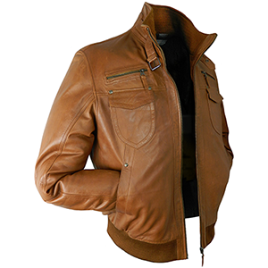 Shaun Tan Leather Jacket