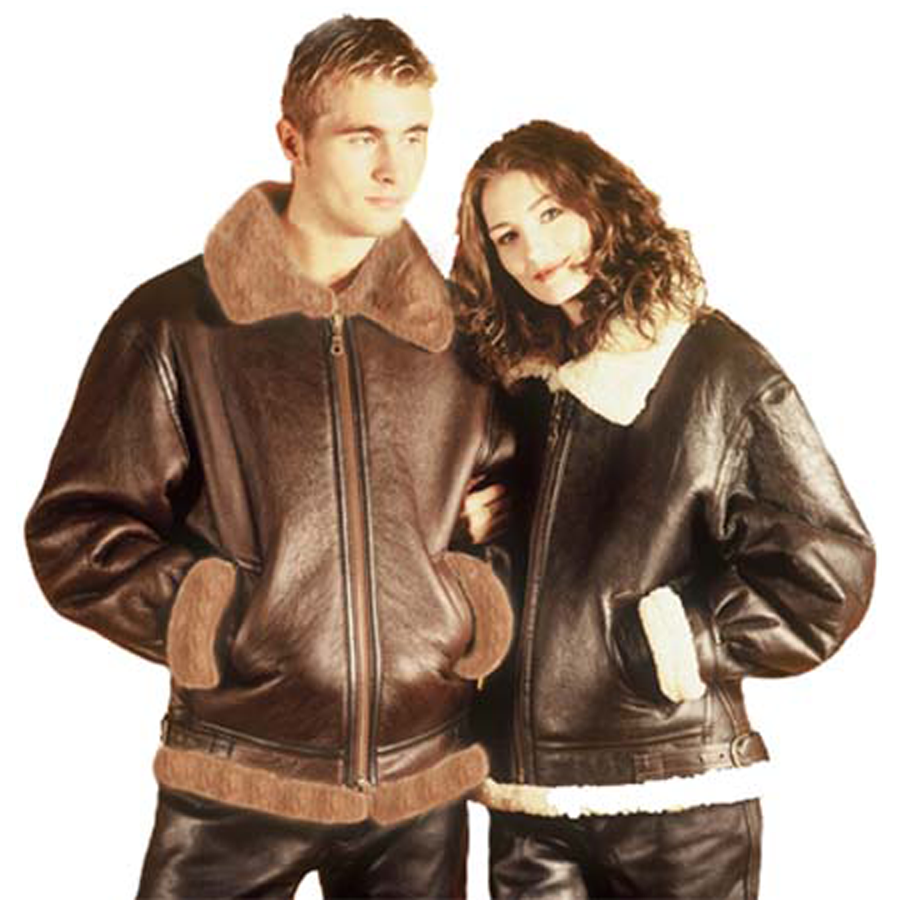 Finest Quality Sheepskin Flying Jackets