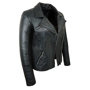 Tara Black Leather Jacket