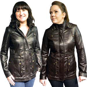 Kelly Women's Leather Coat