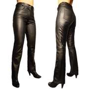 Nola Leather Jeans