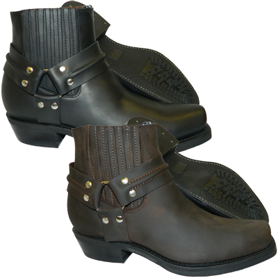Renegade Lo Grinder Boots - Waxy Cowhide