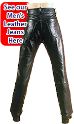 Men's Leather Trousers Edinburgh