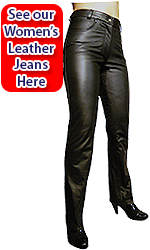 Women's Leather Jeans Edinburgh