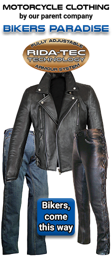 Motorcycle Clothing by Bikers Paradise